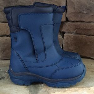Other - Boys LANDS END snow boots / blue / size 11